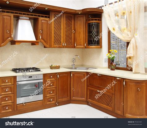 Design For Kitchen Room by The New Kitchen Room Modern Design Stock Photo 75161431