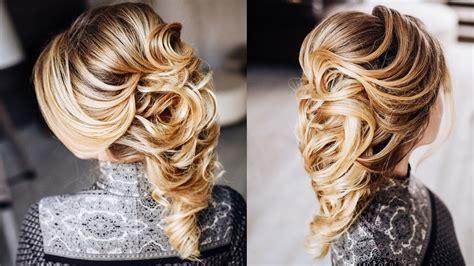 Greek Braid Hairstyle Tutorial, Easy Wedding Updo