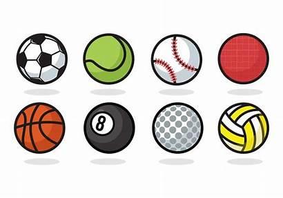 Ball Icons Silhouette Vecteezy Kickball Icon Balls