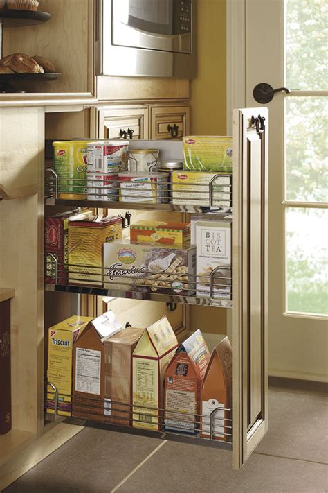 Base Pantry Pull Out Cabinet Kitchen Craft Cabinetry