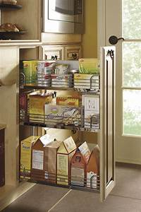 Base Pantry Pull Out Cabinet - Kitchen Craft Cabinetry