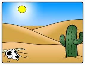 Cartoon Desert