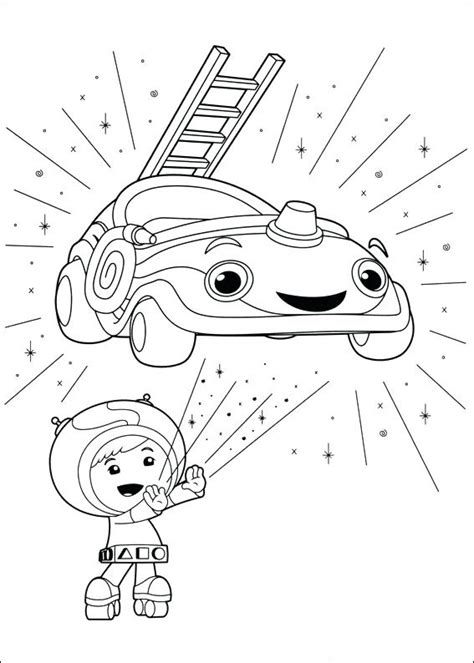 team umizoomi coloring pages  coloring pages  kids