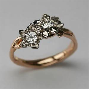bespoke fairtrade fairmined 18 carat rose gold 18 carat With bespoke wedding rings