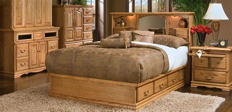 king bed with bookcase headboard oak headboard napa moonrise wine barrel oak headboard