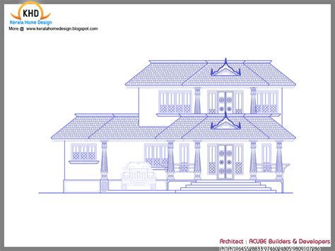 Kerala Style Traditional House - Kerala home design and