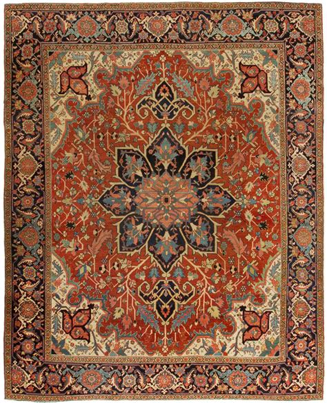 safavieh vintage rug collection rug ant124402 serapi antique area rugs by safavieh