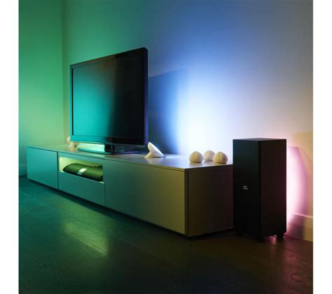 philips hue bloom dimmable led smart table l philips friends of hue bloom wireless led table l deals