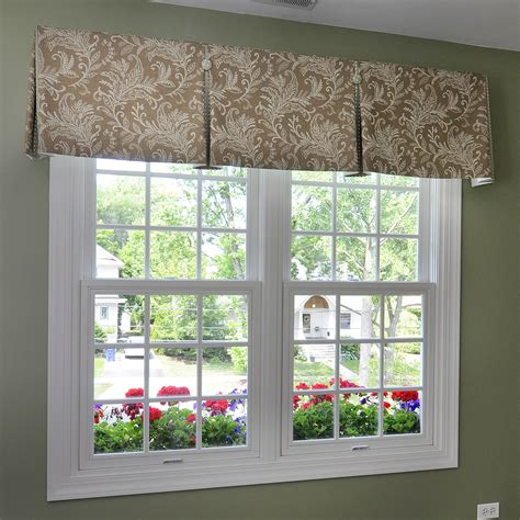 Window Valance by Inverted Box Pleat Valance With Contrast Pleats And