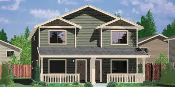 one story house plans with 4 bedrooms narrow lot duplex house plans narrow and zero lot line