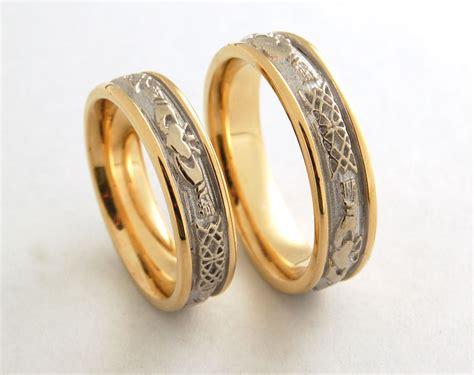 ring wedding sets celtic wedding rings