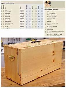Carpenter U0026 39 S Toolbox Plans