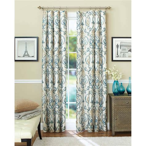 door window curtains walmart somerset home karla laser cut grommet curtain panel