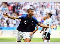 France 43 Argentina Mbappe and Pogba say goodbye to