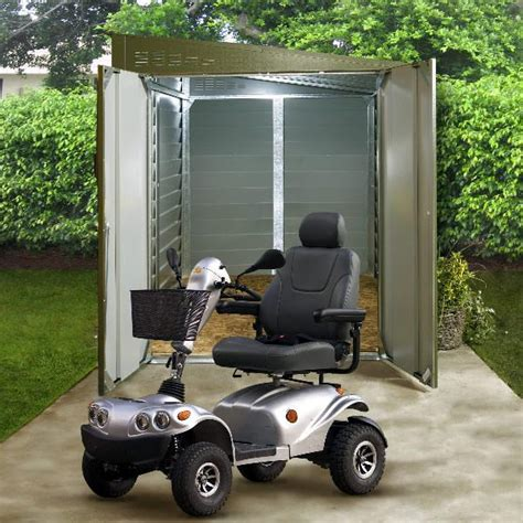 Motorroller Garage by Trimetals Mobility Scooter Garage