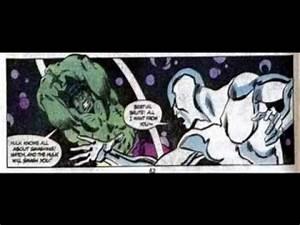 Hulk Vs Silver Surfer!Part 1! - YouTube
