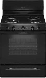 Whirlpool Wfc340s0ab 30 U0026quot  Freestanding Electric Range With 4 Coil Elements  4 8 Cu  Ft  Oven