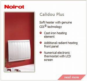 Noirot Calidou Plus 2000w : heaters ~ Edinachiropracticcenter.com Idées de Décoration