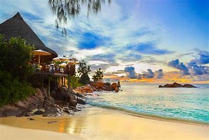 Tropical Places Most Warm Seychelles Islands Locations