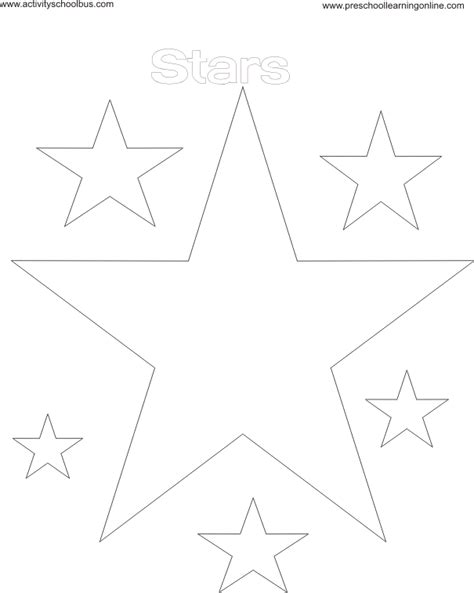 Coloring Pictures Of Stars
