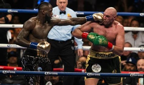 Tyson Fury confirms rematch with Deontay Wilder - date of ...