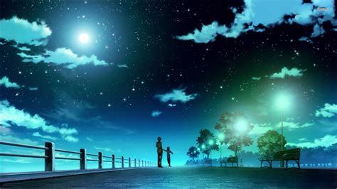 Anime Backgrounds For Desktop by Anime Sky Wallpapers Wallpapersafari