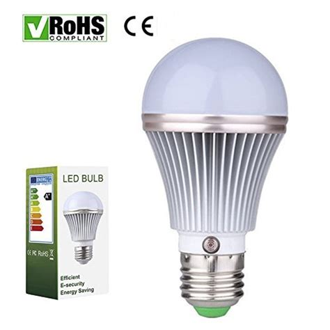 switching to led light bulbs e27 5w led dusk to dawn sensor light bulbs aluminum