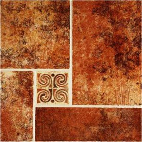 lamosa tile home depot lamosa jerez 16 in x 16 in rojo ceramic floor tile 17