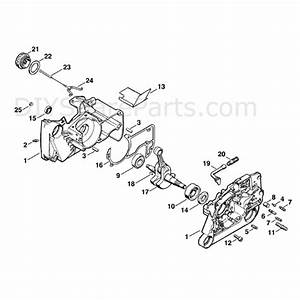 Stihl Ms 660 Chainsaw  Ms660 Magnum  Parts Diagram  Crankcase