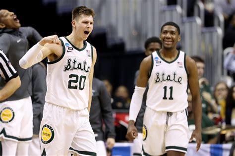 michigan state basketball  takeaways  sweet  win