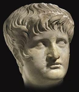 Portrait head of the emperor Nero. Marble. Ca. 59—64 CE ...