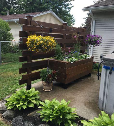 build  raised wooden planter box easy diy flower