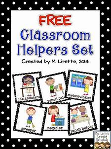 Our Helpers Chart Free Classroom Job Set Classroom Freebies Bloglovin