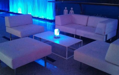 geo coffee table l white event rentals