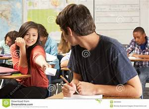 Students Passing Notes In Class Royalty Free Stock Photo ...