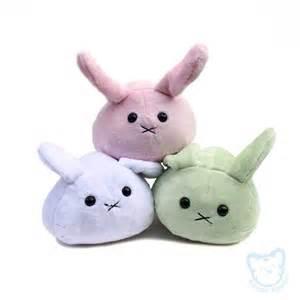 Cute Handmade Plush: Kawaii Mochi Buns Bunnies