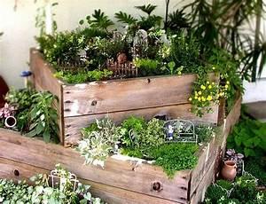 Kleiner Zaun Für Beet : kleine gartenparadiese die berall m glich sind sweet home ~ Buech-reservation.com Haus und Dekorationen