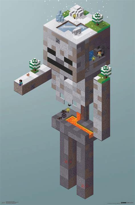 minecraft skeleton tundra