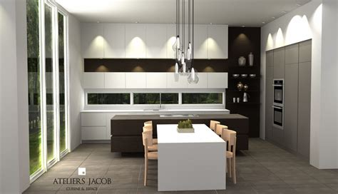 plan cuisine 3d kitchen 3d renders exles ateliers jacob