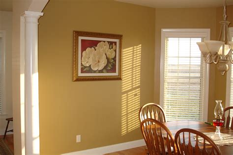 Interior Painting : Interior Golden Yellow Paint Trends In Kerala