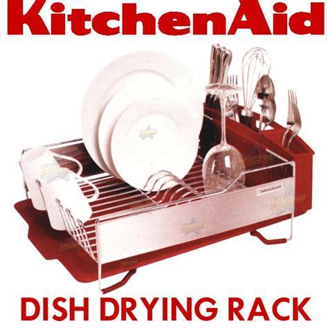 kitchenaid dish rack 3pc kitchenaid dish drying rack plate drainer tray cup