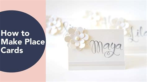 how to make place cards place card ideas diy wedding or