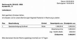 Sonstige Leistung Eu Rechnung Muster : mehrwertsteuer berechnen so geht s richtig ~ Themetempest.com Abrechnung
