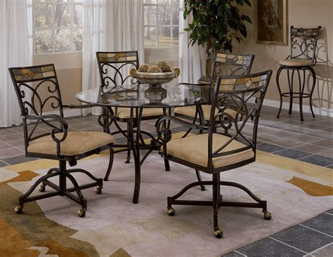 kitchen table with chairs on wheels the most popular types kitchen chairs with wheels