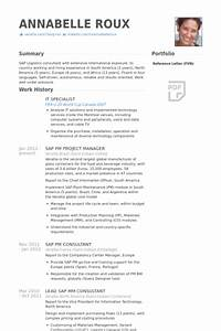 it specialist resume samples visualcv resume samples With it specialist cv template