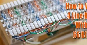 66 Block Wiring Tip Ring