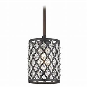 Crystal neuvelle bronze phoenix stem hung mini pendant light in the uae see prices reviews