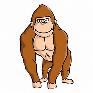 Best Gorilla Clipart #17728 - Clipartion.com