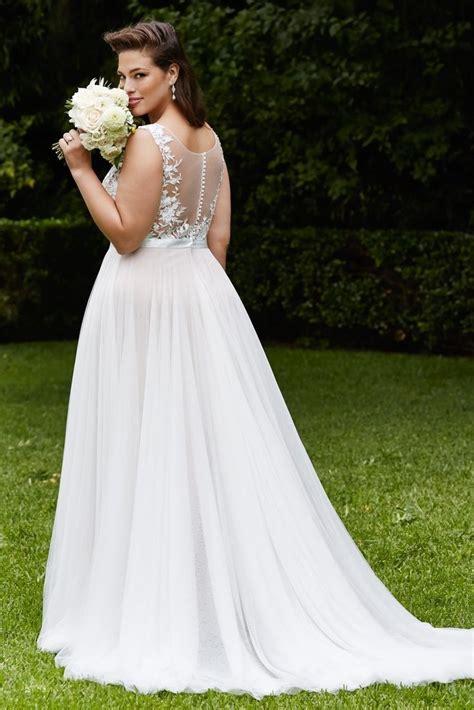 20 Affordable Plus Size Wedding Dresses for Women 2016 - SheIdeas