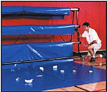 gymnastics floor assembly allcourtfabrics